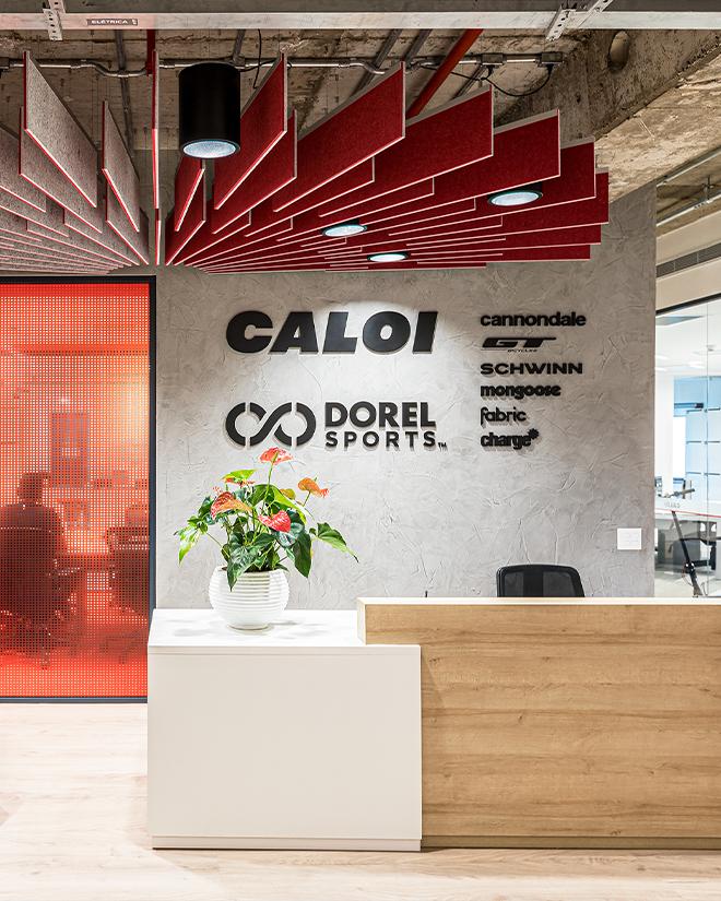 Caloi investe em ambientes com mobilidade em seu novo escritório